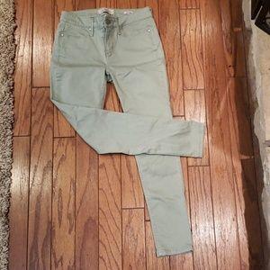Calvin Klein skinny jeans.